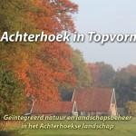 Achterhoek in Topvorm – Geïntegreerd natuur- en landschapsbeheer